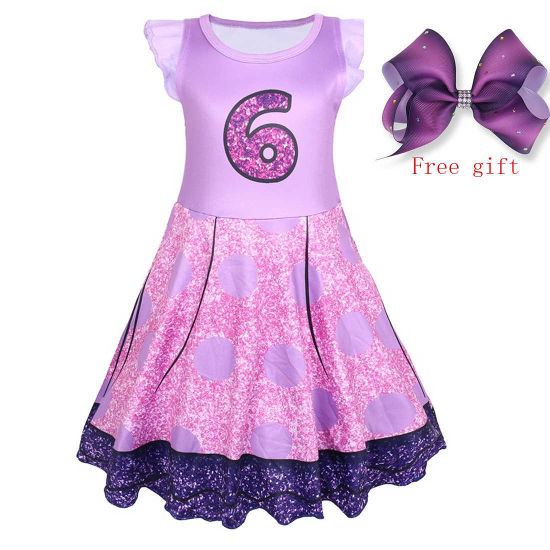 4052b0ad45d4 2019 Girl Unicorn Tutu Dress Rainbow Princess Girl Party Dress Toddler Baby  lol Birthday Halloween Outfits