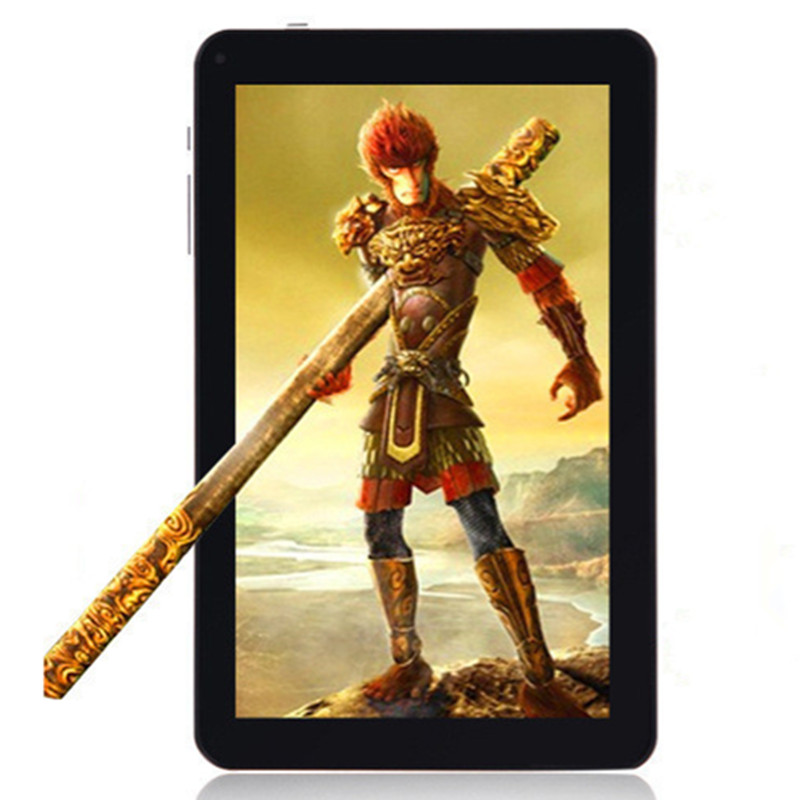 9 inch 8G MP4/3 Bluetooth HD player tablet wireless video photo recording e book WIFI Internet game console Android system 4.4
