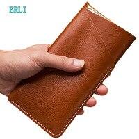Slim Outdoor Genuine Leather Belt Pouch Case For Sony Xperia XZ3 XZ2 Premium XZ1 Compact Z6 E5 L39u L1 L36h M5 G3112 H8166