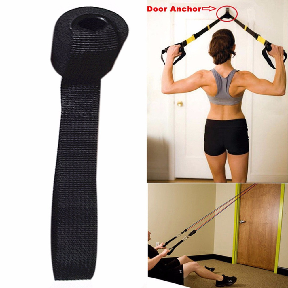 Foam Door Anchor Resistance Exercise Bands Muscle Building