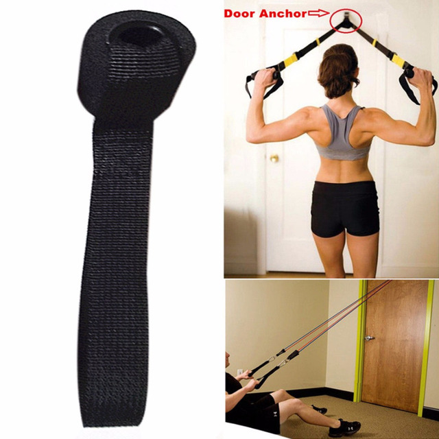 Foam Door Anchor Resistance Exercise Bands Muscle Building Strength Training Ankle Straps Foam Handles Fitness Workout  sc 1 st  AliExpress.com & Foam Door Anchor Resistance Exercise Bands Muscle Building Strength ...