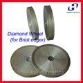 BRI rebolo de Diamante para auto Briot edger lente CR39 Vidro Policarbonato Áspero Roda de Corte Fino