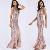 MUXU summer vestidos women robe femme ete 2018 sexy sequin glitter party long dress plus size bodycon clothes backless sundress