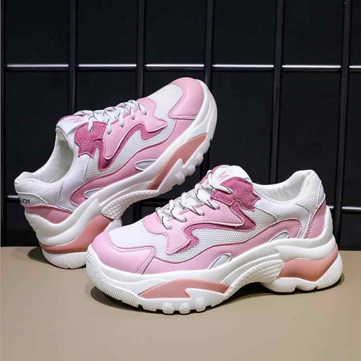 86b0bfd7f23e Высокое качество Женские кроссовки спортивная обувь прогулочная обувь, ins  Горячие обувь спортивная ветер удобные дышащие
