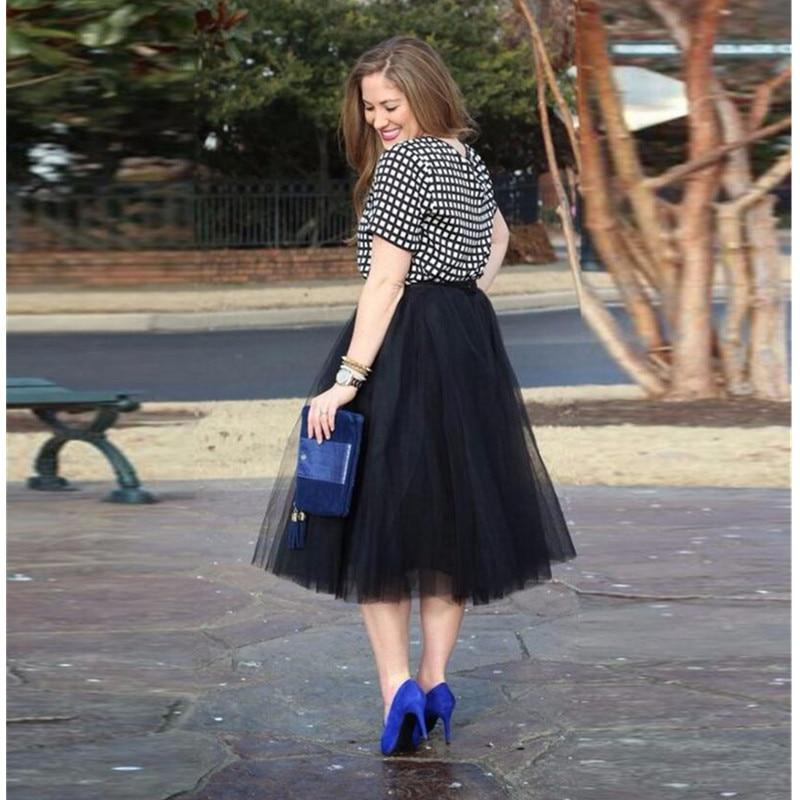 Современные юбки миди