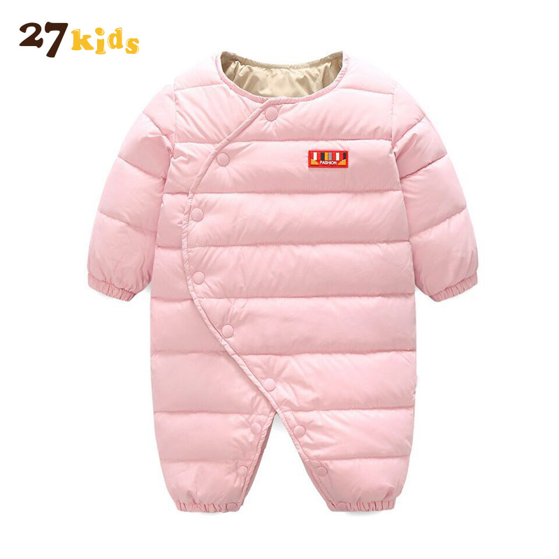 27Kids Baby Girls Winter Jacket Coat Cotton Fashion Long Sleeve Jacket Outwear Warm Solid Color Children's Clothing Thicken Coat new fashion warm winter spring jacket men long sleeve zippers olive green and navy outwear loose men pakas a3744