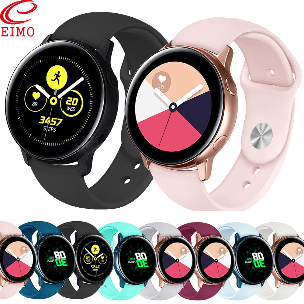 Galaxy Watch Active For Samusng Galaxy Watch 42mm Daniel Wellington Amazfit Bip Huawei Watch Gt Strap Bracelet 22mm Watch Basnd