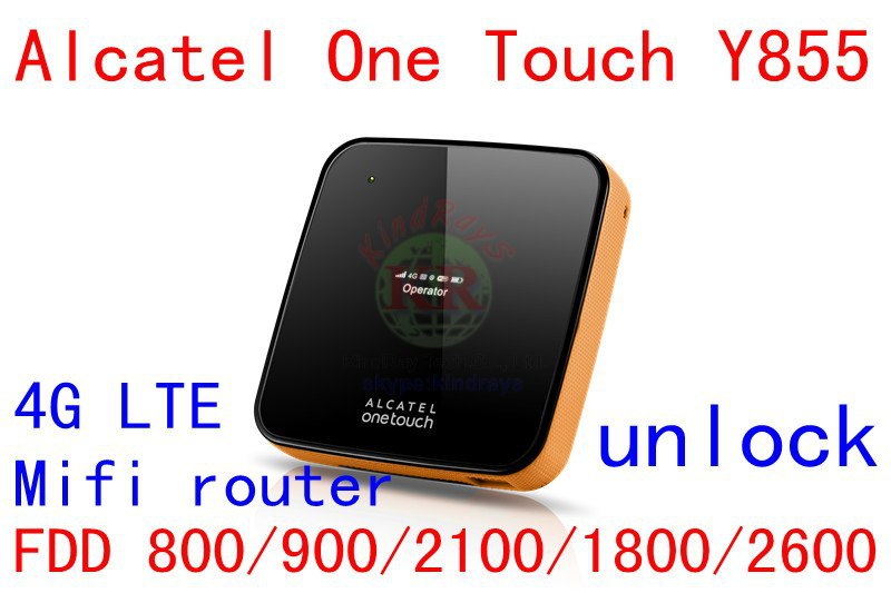 Unlock Alcatel One Touch Y855 4g LTE mifi wifi router 150Mbps 4G wiFi dongle 3g LTE 4g 3g mobile hotspot pk y800 760s 762s alcatel one touch 4g router y859nc