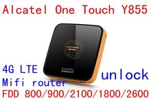 Unlock Alcatel One Touch Y855 4g LTE mifi wifi router 150Mbps 4G wiFi dongle 3g LTE