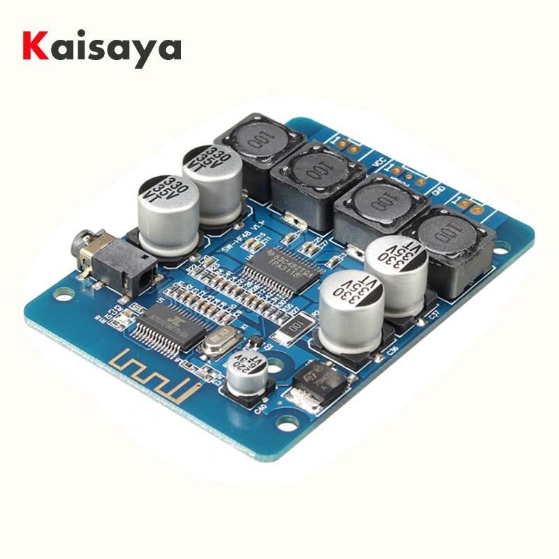 Tpa3118 2x30 w 8-26 v dc áudio estéreo bluetooth placa amplificador de potência digital para diy brinquedos modelo amplificadores D3-001
