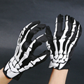 Toy Gloves Halloween Game Show Skull Cloth Gloves Party Props And Equipment Ghost Gloves Fashion Halloween Skull Skeleton Gloves