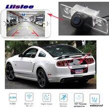 LiisLee Автомобильная камера заднего вида для Ford Mustang GT CS 2005~ Камера заднего вида ночного видения резервная Беспроводная камера номерной знак