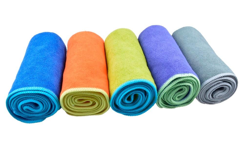 80cmx150cm Microfiber Ultra Absorbent për tharjen e - Tekstil për shtëpi - Foto 3