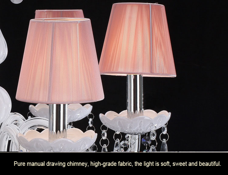Modern led crystal chandelier ceiling for living room light fixtures ...
