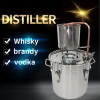 12L Moonshine Distiller Vodka Whiskey Brandy Alcohol Making Bar Party Brewing Equipment Family Self brewing distillation