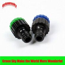 2pcs/lot garden irrigation female thread 1/2 3/4 tap faucet hose quick connector 2pcs lot kt66 page 3