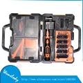 Portable Professional JM-8152 Precise Screwdriver Set Repair Tool Kit mobile phone repair tools with toolbox tweezers bits