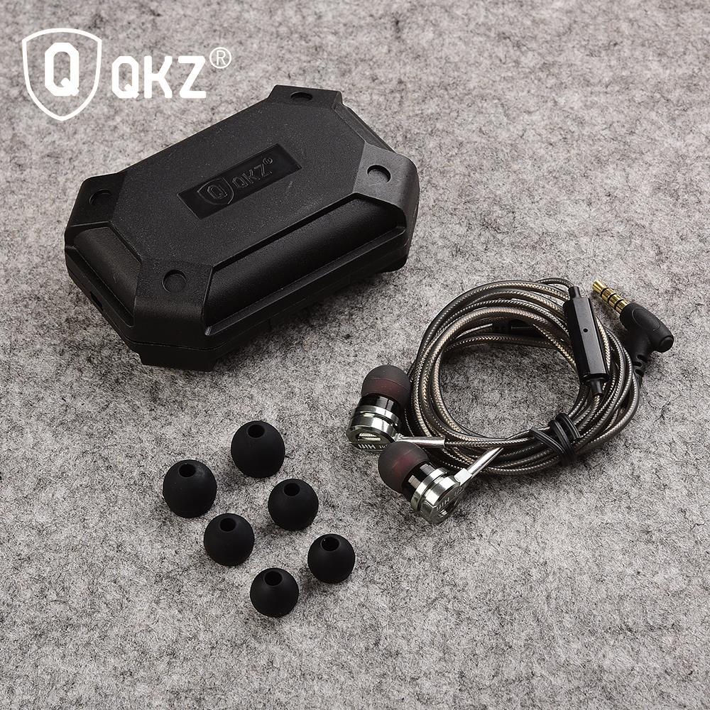 QKZ DM9 kuulokeliitäntä Headset Micro-rengas korvaan kuulokkeella - Kannettava ääni ja video - Valokuva 6