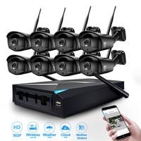 JOOAN 8CH CCTV System Wireless 960P NVR 8PCS 1 3MP IR Outdoor P2P Wifi IP Security
