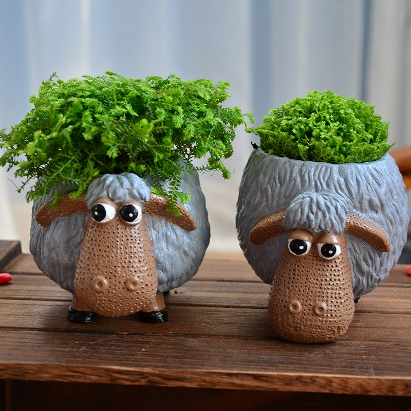 Office Decoration Flower Pots Amp Planter Cute Cartoon