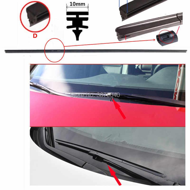 Бесплатная доставка, дворники для лобового стекла автомобиля, лезвие (заправка) для NISSAN Titan Tiida Sentra Rogue, выбор Pathfinder, NV350 Urvan, автомобильные дворники