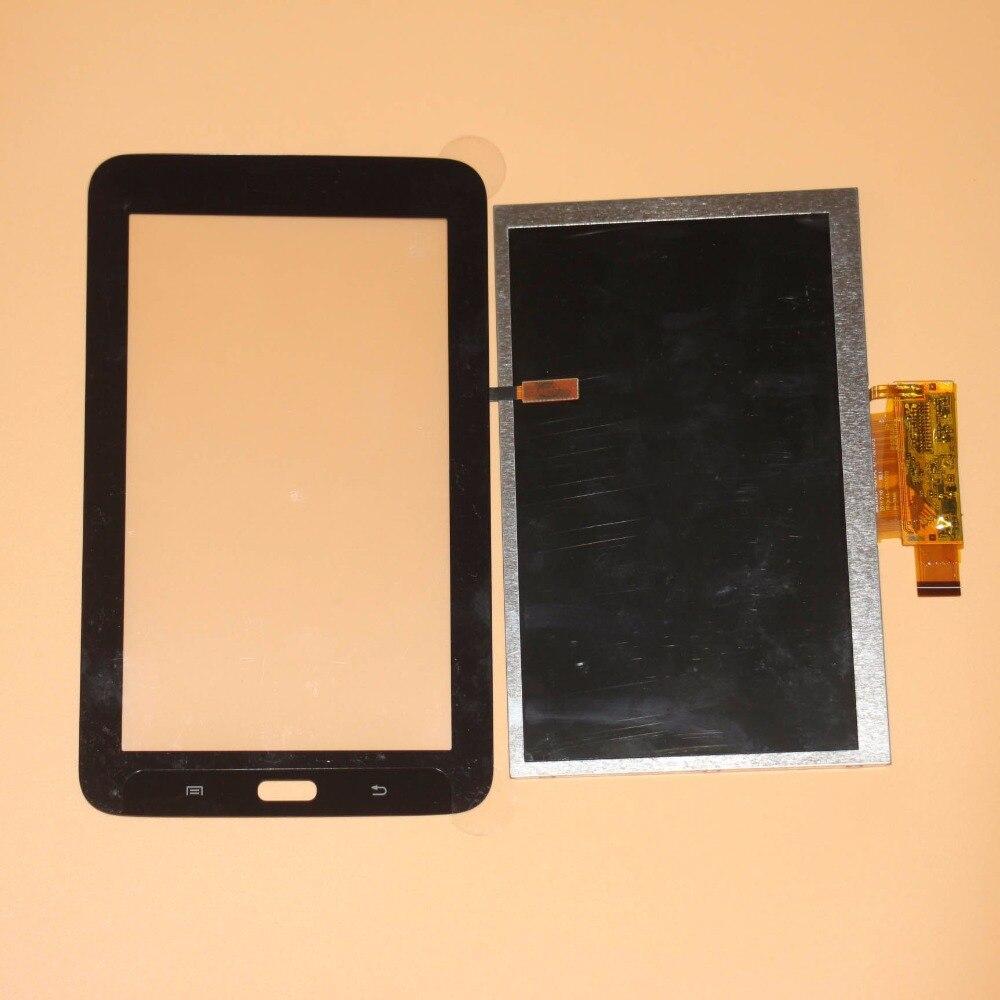 kodaraeeo For Samsung Galaxy Tab 3 Lite 7.0 SM T110 T110 T111 SM T111 Touch Screen Digitizer Glass+LCD Display Prats Black