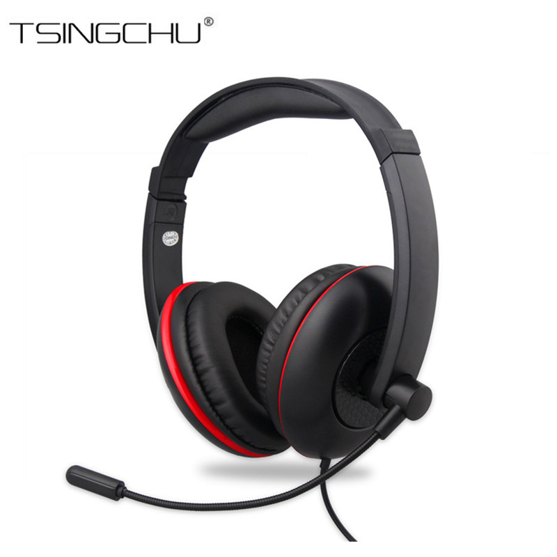 10PCS Wired 5 in 1 Stereo Gaming Headphone For PS4 PS3 XBOX ONE Surrounded Over-Ear Gaming Headset With Light For PC XBOX 360 5 in 1 wired karaoke microphone set for ps3 ps2 pc wii xbox 360 black 2 pcs