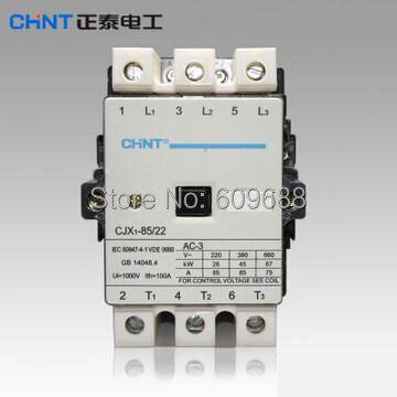 Original CHINT AC Contactor CJX1-75/22 36V/50HzOriginal CHINT AC Contactor CJX1-75/22 36V/50Hz