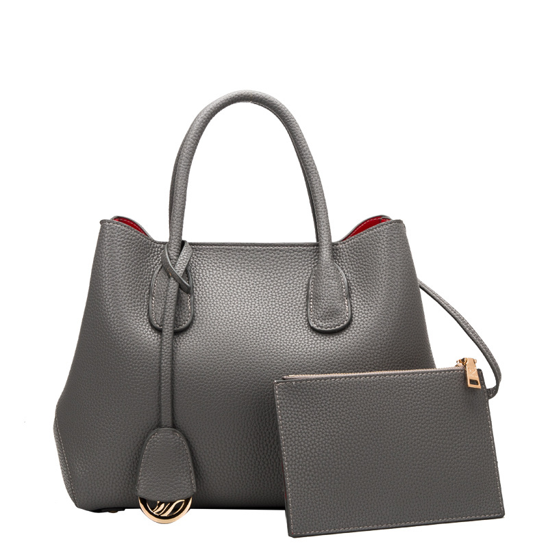 ФОТО 15310 European and American Leather Embossed Leather Handbags Handbags Lady Platinum Leather Shoulder Bag