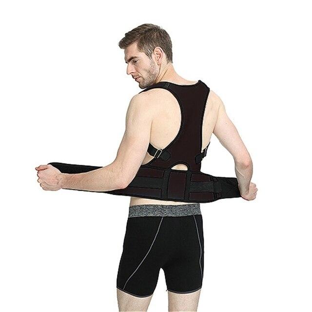 Black Posture brace 5c64ca34eae3b