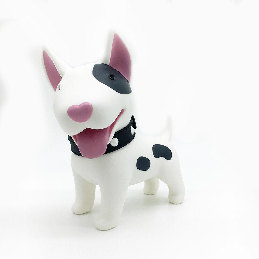 Creative Sled Dog Bulldog Model Pinata Toys Pet Dog Piggy Bank Bull Terrier Akita Dogs Siberian Husky Dogs Save Money Tank Model