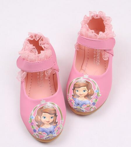2016 European sweet princess baby shoes patchwork beautiful baby single clogs fashion leather sandals free shipping