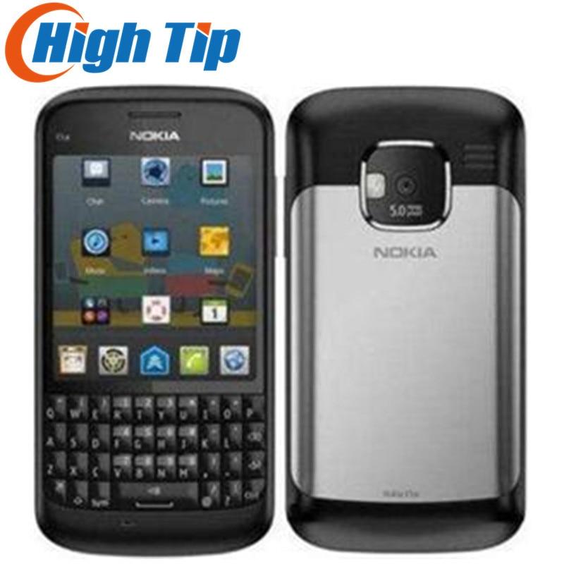 Original NOKIA E5 Cell Phones Unlocked Brand Refurbished Nokia E5 5MP Camera 3G Mobile Phones Bluetooth