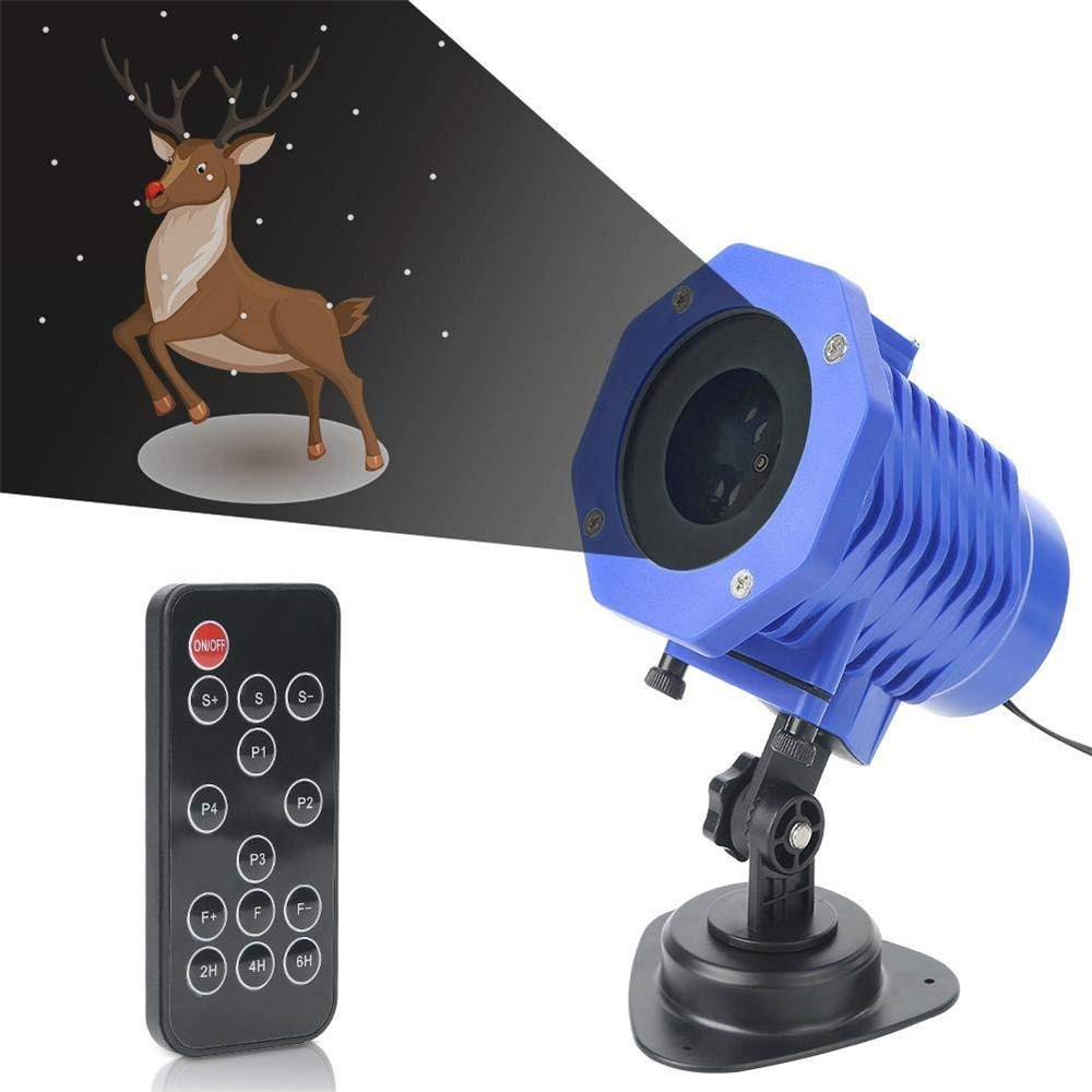5W AC100-240V Animated Projector Light Waterproof IP65 Outdoor Landscape for Garden Holiday Christmas Halloween Decorations informotion animated infographics