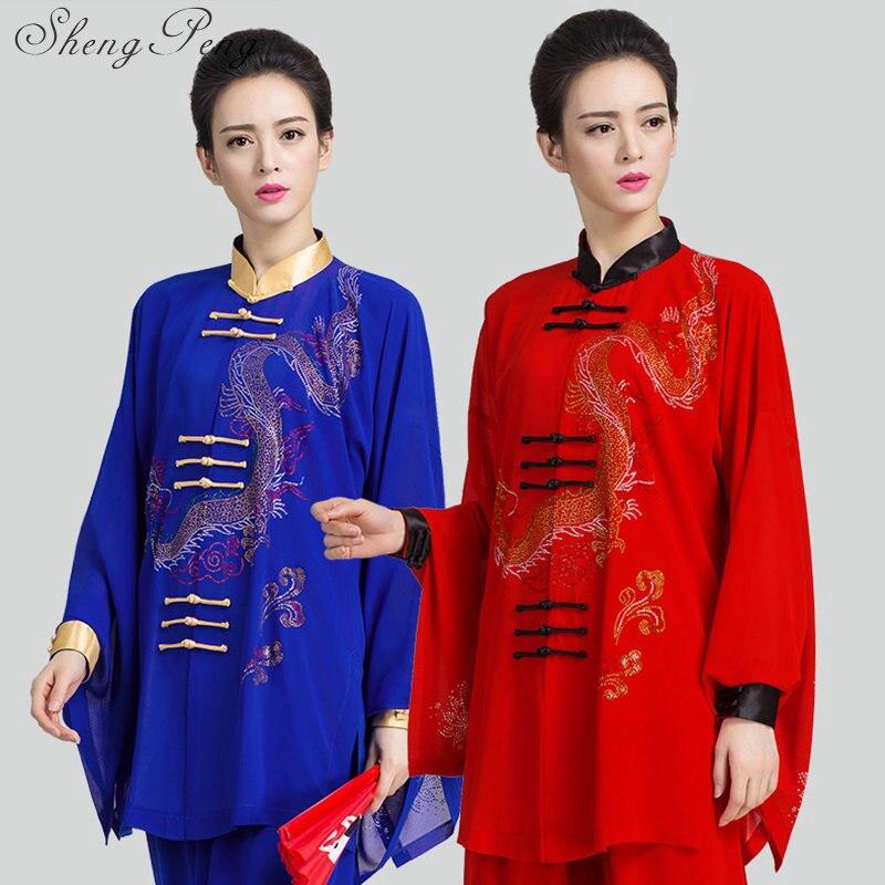 Vêtements de Tai chi uniformes de tai chi vêtements de tai chi vêtements de kung fu kung fu vêtements traditionnels chinois unifor CC159