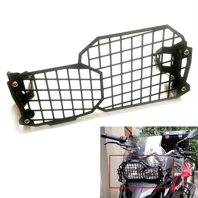 Motorcycle Headlight Grille Guard Cover Protector For BMW F800GS F700GS F650GS Free shipping motorcycle radiator grill grille guard screen cover protector tank water black for bmw f800r 2009 2010 2011 2012 2013 2014