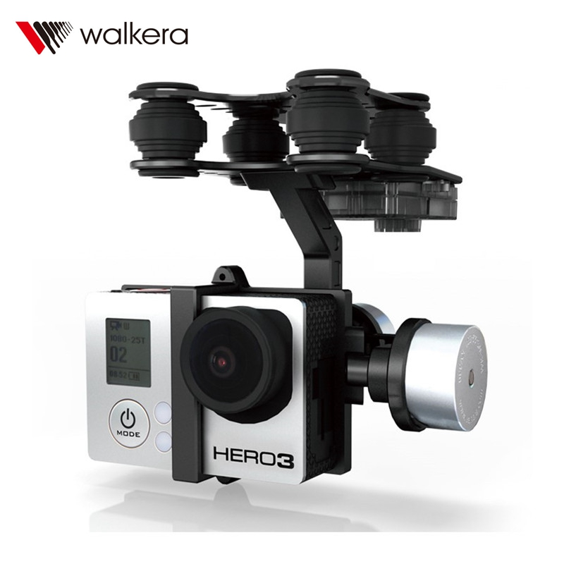 (In Stock) Original Walkera G-2D Aluminium Alloy Brushless Camera Gimbal for iLook / Gopro Hero 3 / Sony Camera for QR X350 PTZ qr x350 z 05 fixing block parts for walkera qr x350 pro
