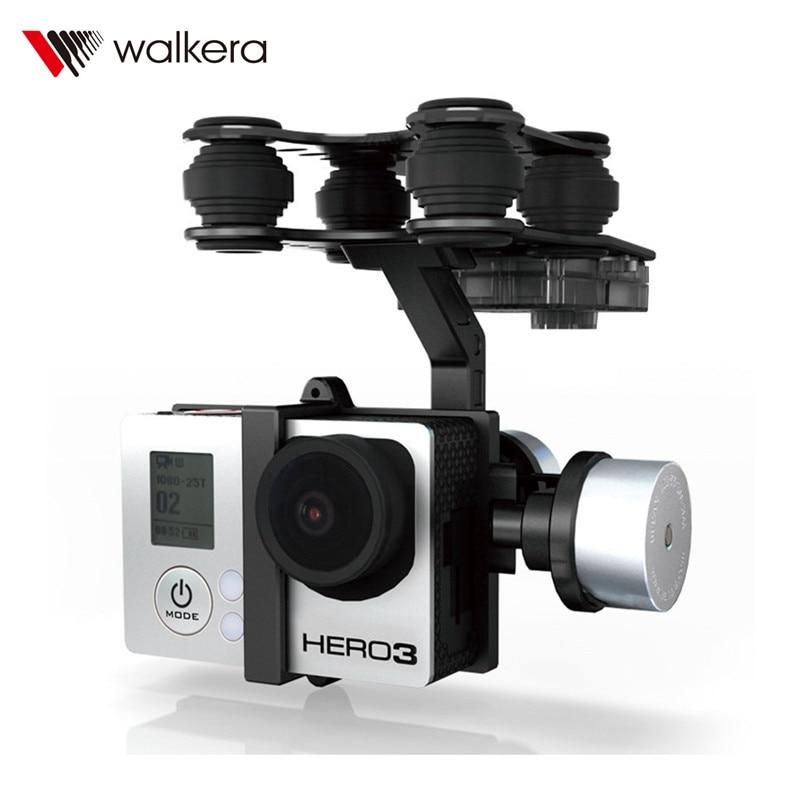 (En Stock) cardán de cámara Original Walkera G 2D de aleación de aluminio sin escobillas para iLook/Gopro Hero 3/cámara Sony para QR X350 PTZ-in Partes y accesorios from Juguetes y pasatiempos    1