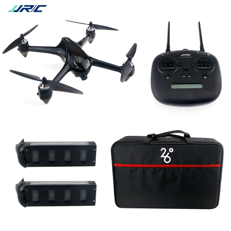 JJRC X8 GPS 5G WiFi 6 assige gyro FPV Met 1080P HD Camera Hoogte Hold Modus Borstelloze RC Drone Quadcopter RTF LED verlichting - 2