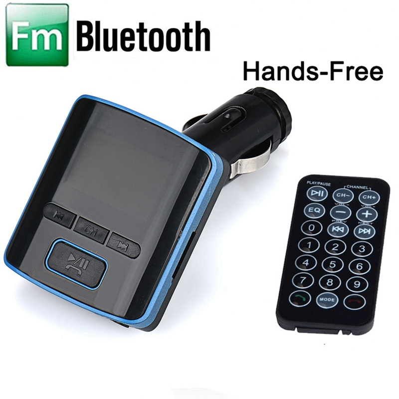 1PC i6 BT Dual USB Charger LCD Car Kit MP3 Bluetooth FM Transmitter With Hands-Free MP3 Car Electronic Wholesale @#129