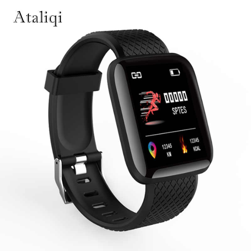 Smart watch Message Push Multi-language Blood pressure Heart Rate Fitness Tracker Men Bluetooth Sport SmartWatch For Android IOS