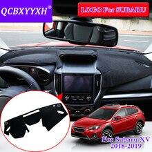 QCBXYYXH для Subaru XV 2018 2 цвета коврик для приборной панели Защитная крышка подкладке Photophobism Pad тенты подушки стайлинга автомобилей