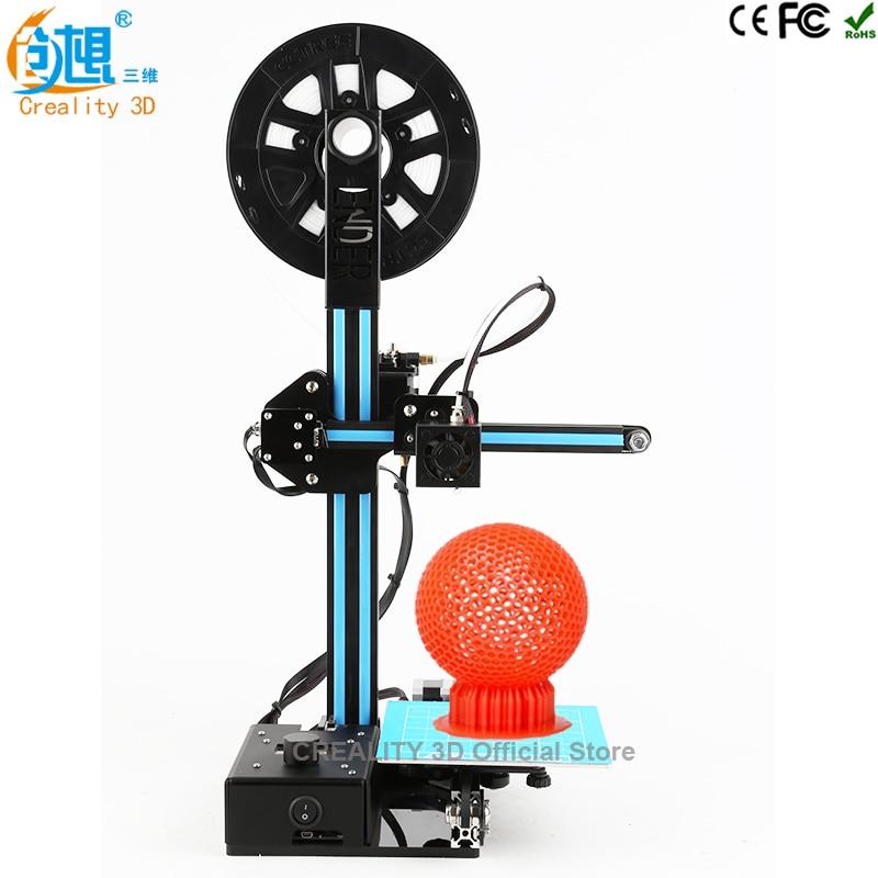 Mini 3D Printer Ender-2 3D Printer DIY Kit with Heated Build Plate, Includes Micro SD card Printing size 5.9x5.9x7.8 inches ender 2 desktop diy 3d printer kit