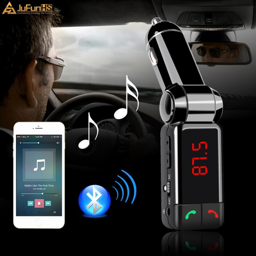 Transmisor de FM Bluetooth Car Kit Manos libres MP3 AUX para iphone - Electrónica del Automóvil - foto 2