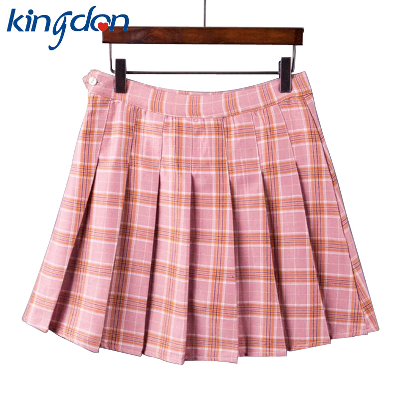 Online Get Cheap Plaid Pleated Skirt -Aliexpress.com | Alibaba Group