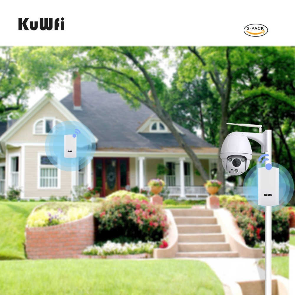 Image 5 - RU Shipping 2 PCS 2.4Ghz 300Mbps 2KM P2P No Setting Wireless Outdoor CPE Router Bridge Access Point Support WDS with LED Display-in Wireless Routers from Computer & Office