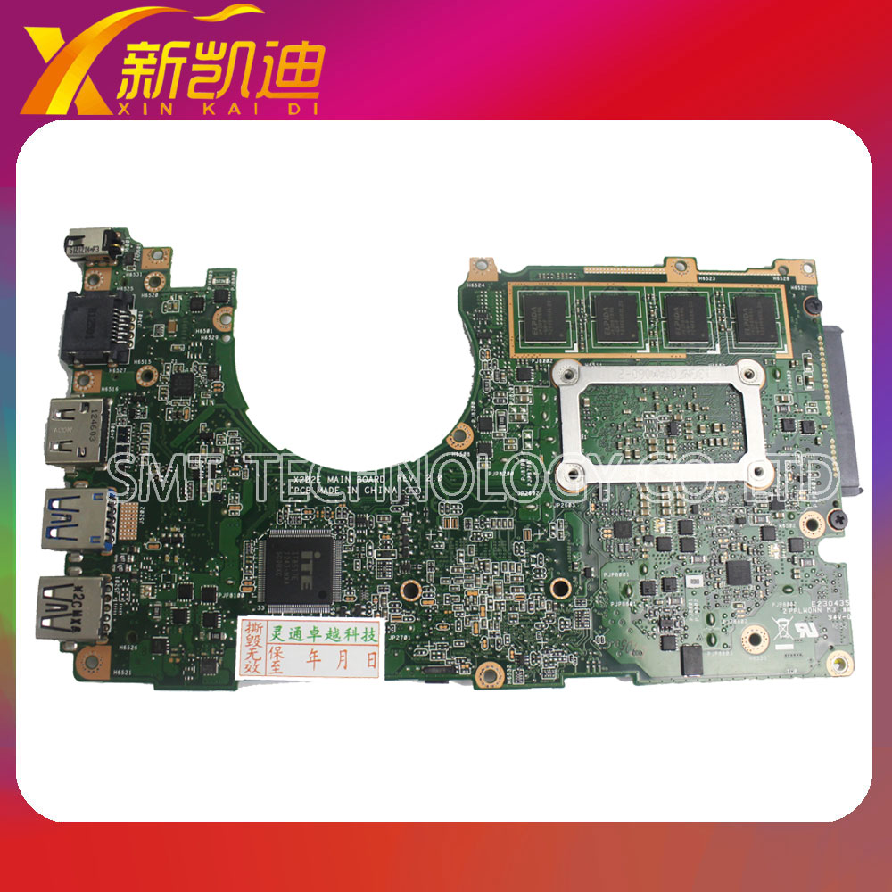 For ASUS X202E X201E S200E X202E Motherboard With 847CPU 2GB Mainboard HM76