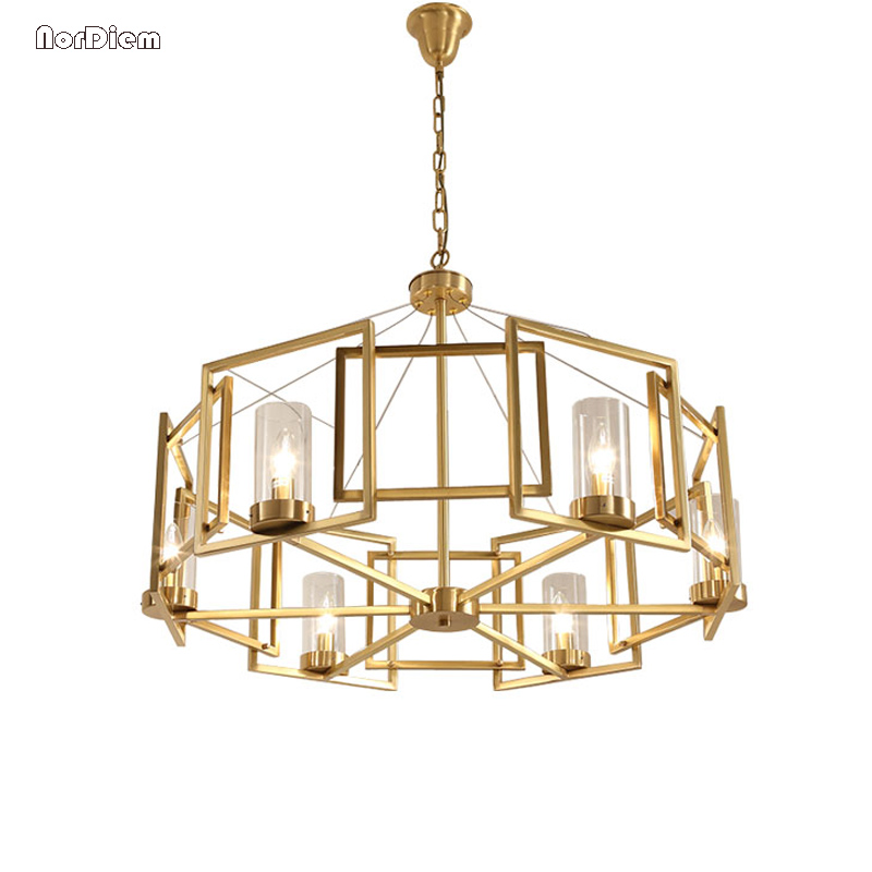 Modern chandelier Light Iron Hanging Lamp lustres for Restaurant Dining room Contemporary Chandeliers Luminaire Lighting Fixture free shipping modern brief pendant light iron and crystal restaurant lamp fashion lighting light fixture for dining room bedroom