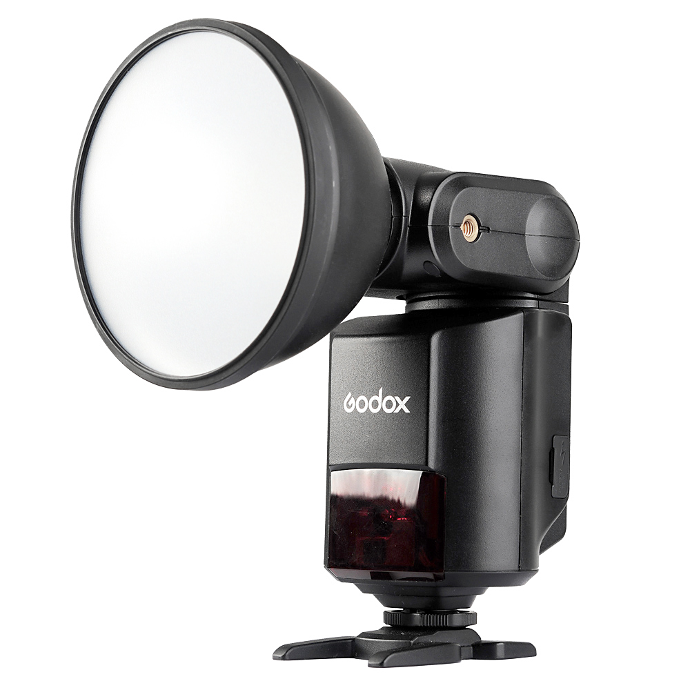 Godox AD360II-C TTL On / Off-Camera Flash Speedlite 2.4G Sistem X Nirkabel untuk Canon 350D 400D 450D 500D 1000D 550D 600D 1100D