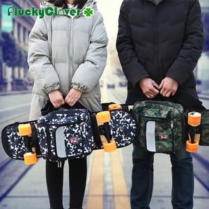 Image 5 - 迷彩スケートボードバッグアウトドアスポーツショルダーバッグダブルロッカーハンドバッグクロスボディ旅行ハイキングキャンプバックパック multifuncton